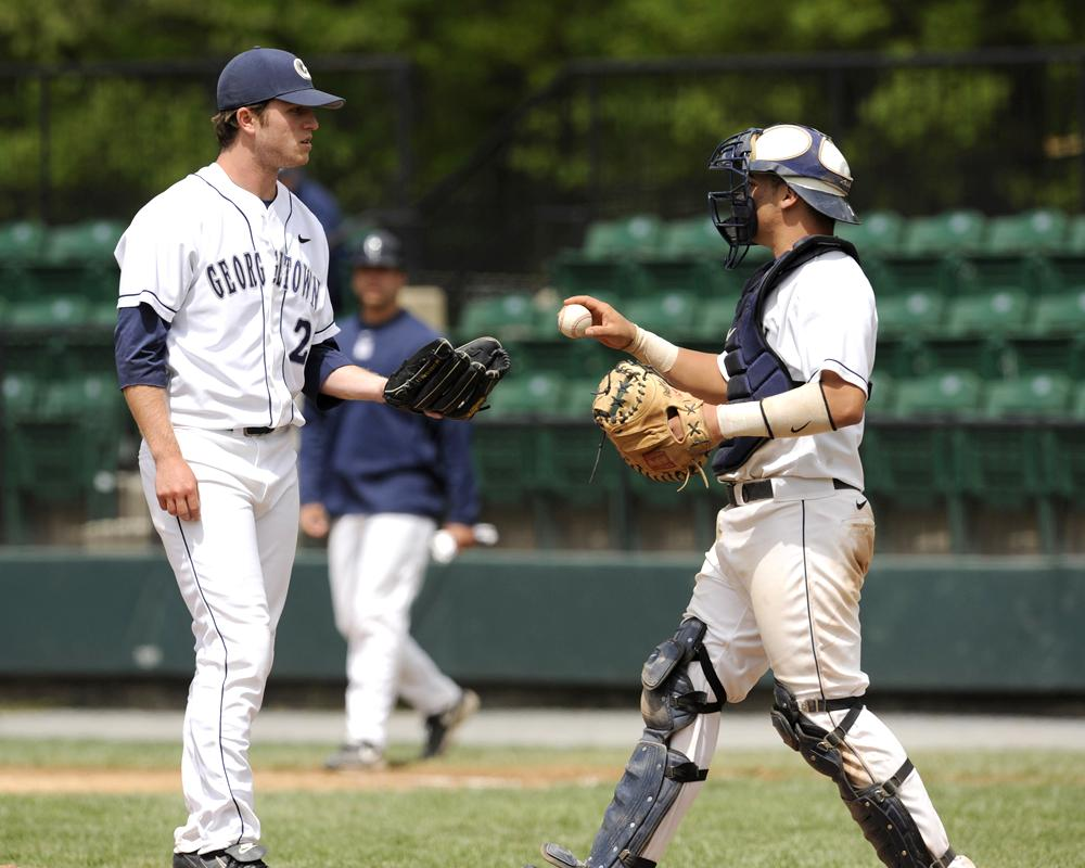 Baseball Hoyas Look For Fresh Start Against Davidson Army