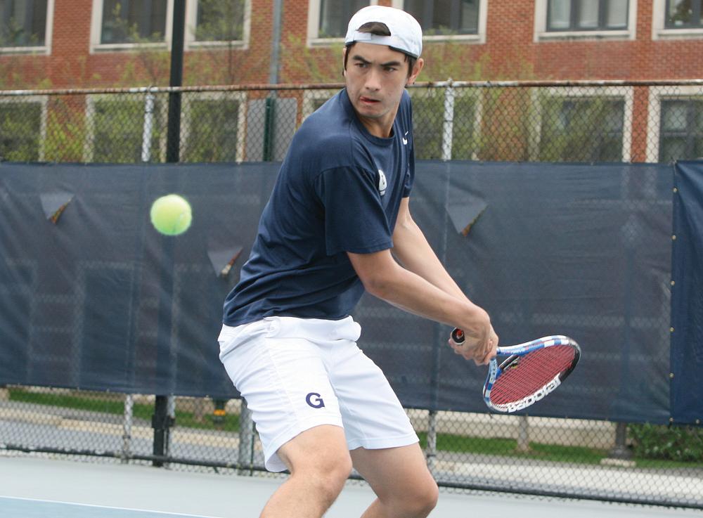 MEN'S TENNIS | Georgetown Knocks Off Stony Brook, St. Francis