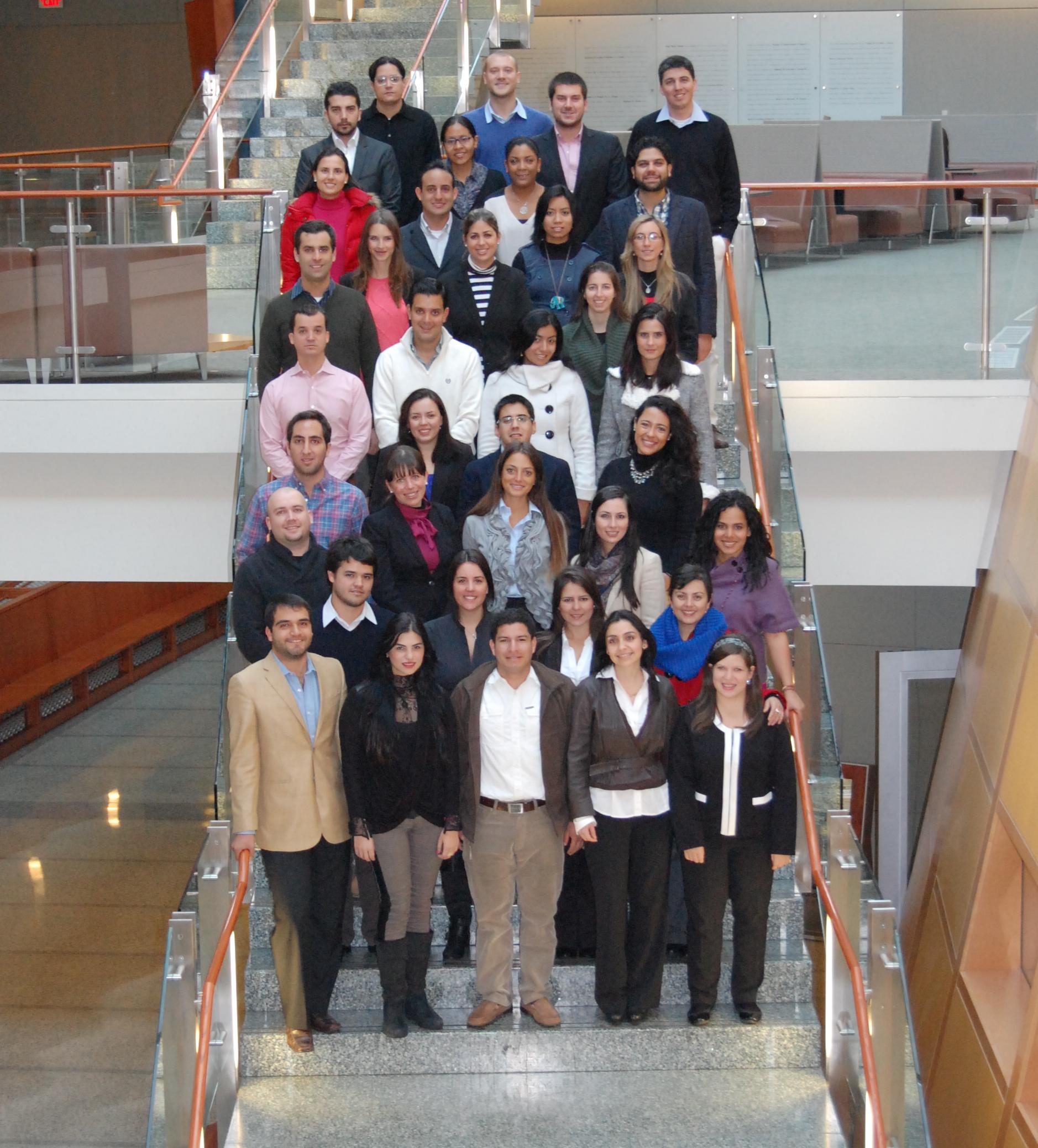 Latin American Leaders Attend MSB Program