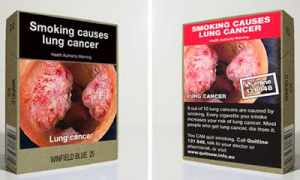 GUMC researchers published a study indicating connections between cigarette carton warnings and stimulus in certain brain areas.