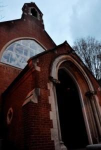 CLARA GALEAZZI/THE HOYA Dahlgren Chapel's foundational damage will require extensive repairs later this year.