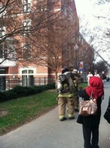 Fire Scare Evacuates Jesuit Residence