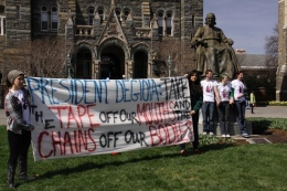 Administration Responds to Plan A After GAAP Weekend Protests