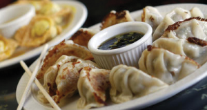 Chopsticks offers delectable and authentic Japanese food, including pork dumplings that are a perfect complement to sushi.