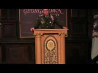 Students Protest at General Petraeus Address