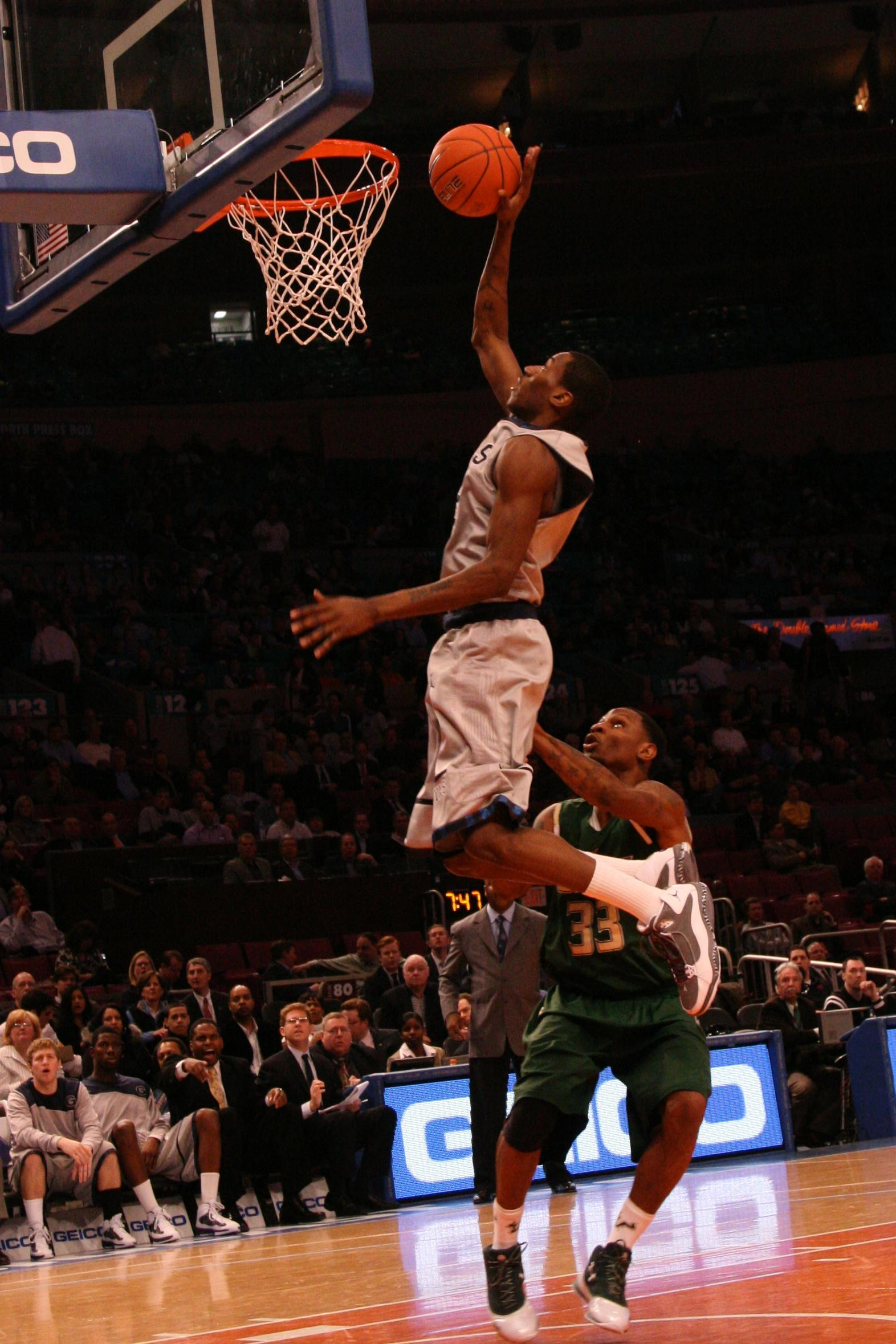 Hoyas Outrun Bulls, Move On to Big East Quarters