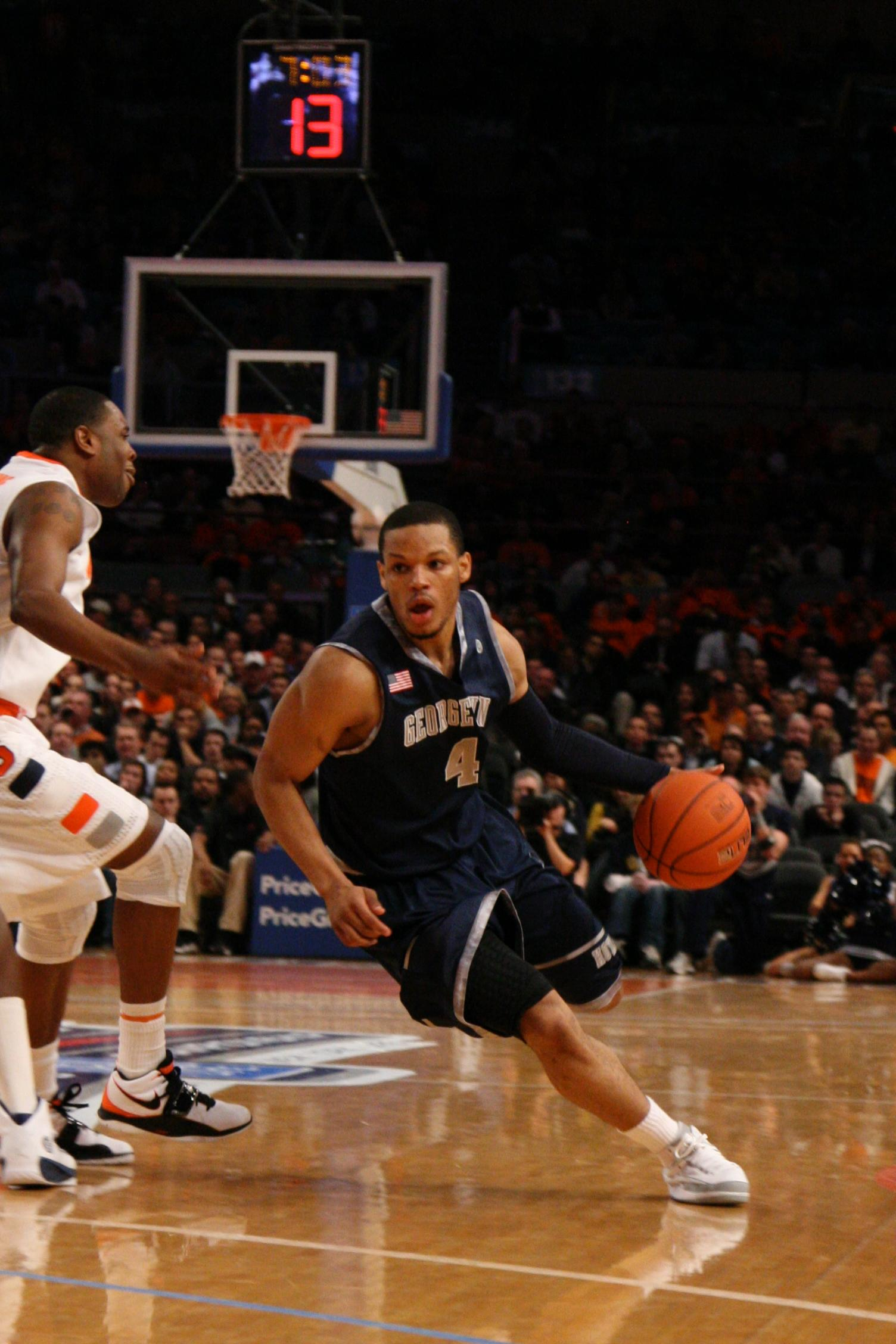 Third Time's the Charm for Hoyas Against Syracuse Zone