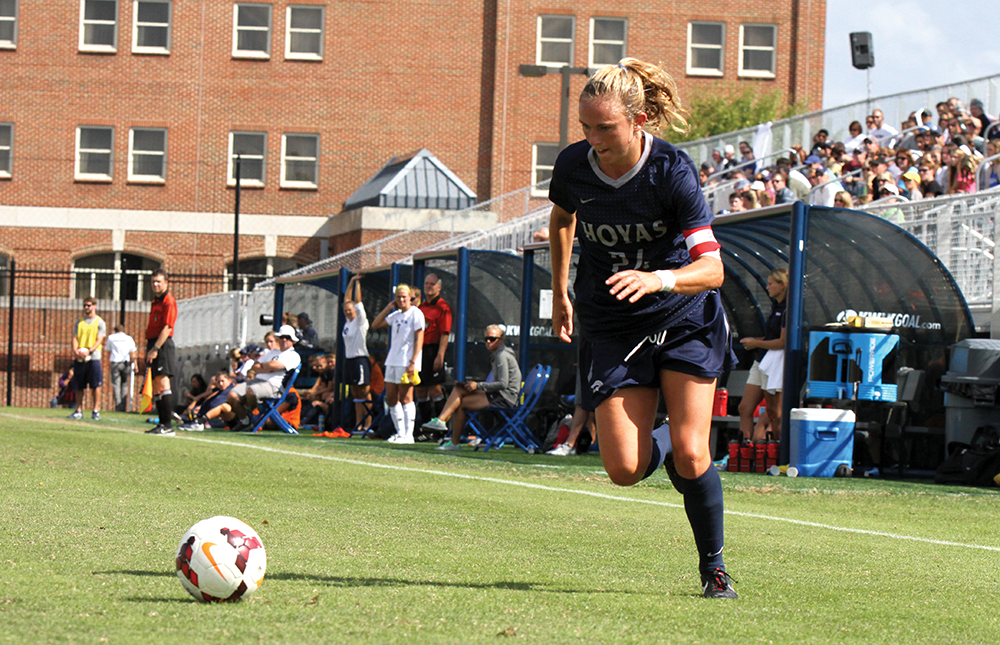 WOMEN'S SOCCER | GU Takes on Middling Friars