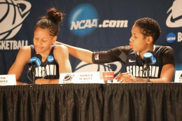 WOMEN'S BASKETBALL   McNutt Leaving, but Hoyas Here to Stay