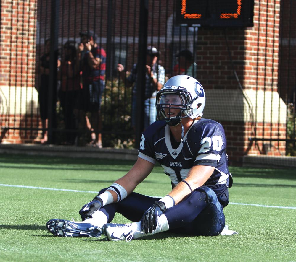 FOOTBALL | For Sixth Year, GU Falls to Yale