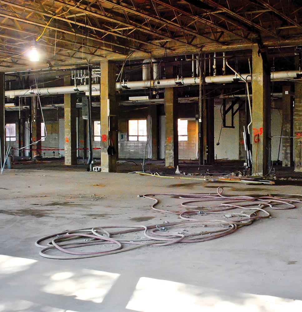 Dance Space Scarce Amid Construction