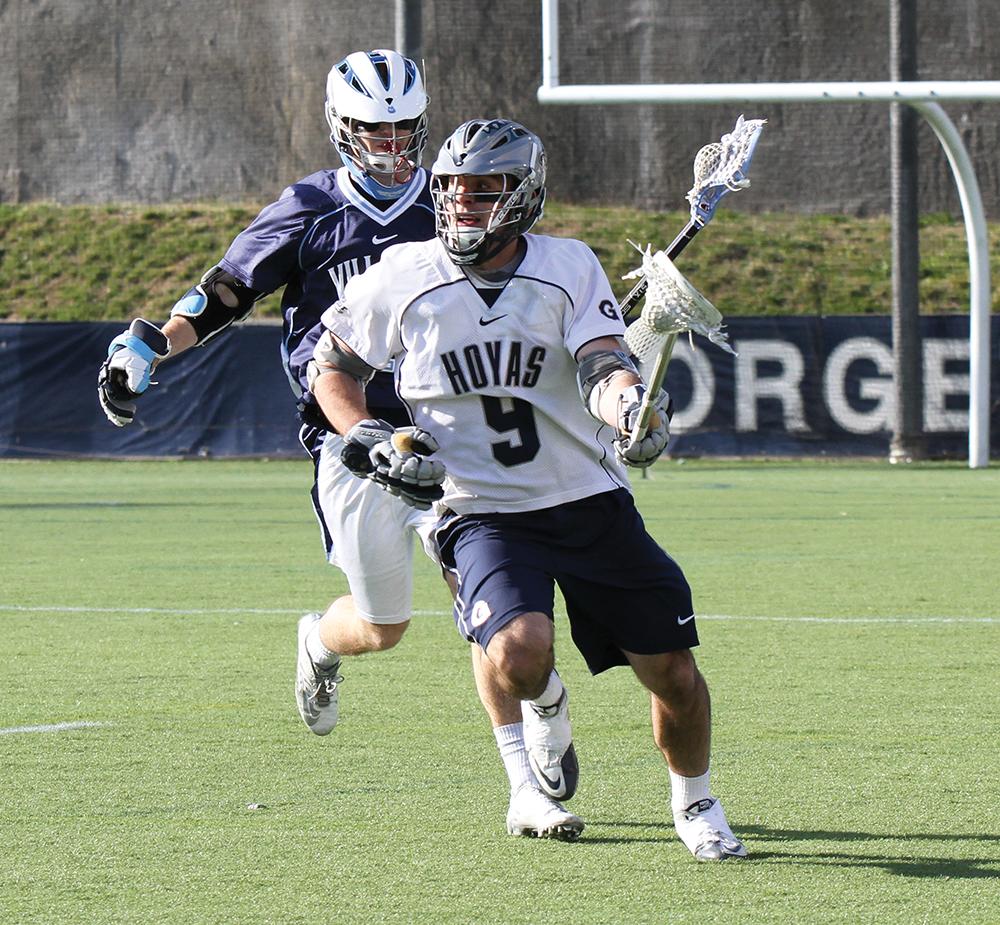 MEN'S LACROSSE   The Mount is the First Test for Hoyas