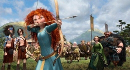 Pixar's Princess Takes on a New Role