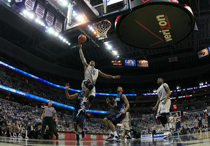 Georgetown Smokes Villanova in Gray Out Game