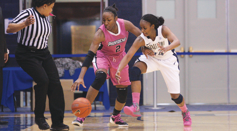 WOMEN'S BASKETBALL | Hoyas Likely to Face West Virginia In Big East Championship Opener