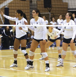 VOLLEYBALL | More Woes for Hoyas in Home Opener