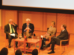 Panelists Robert Siegel, Al Hunt, Kathleen Parker and Chuck Todd analyzed the presidential debates Friday evening.