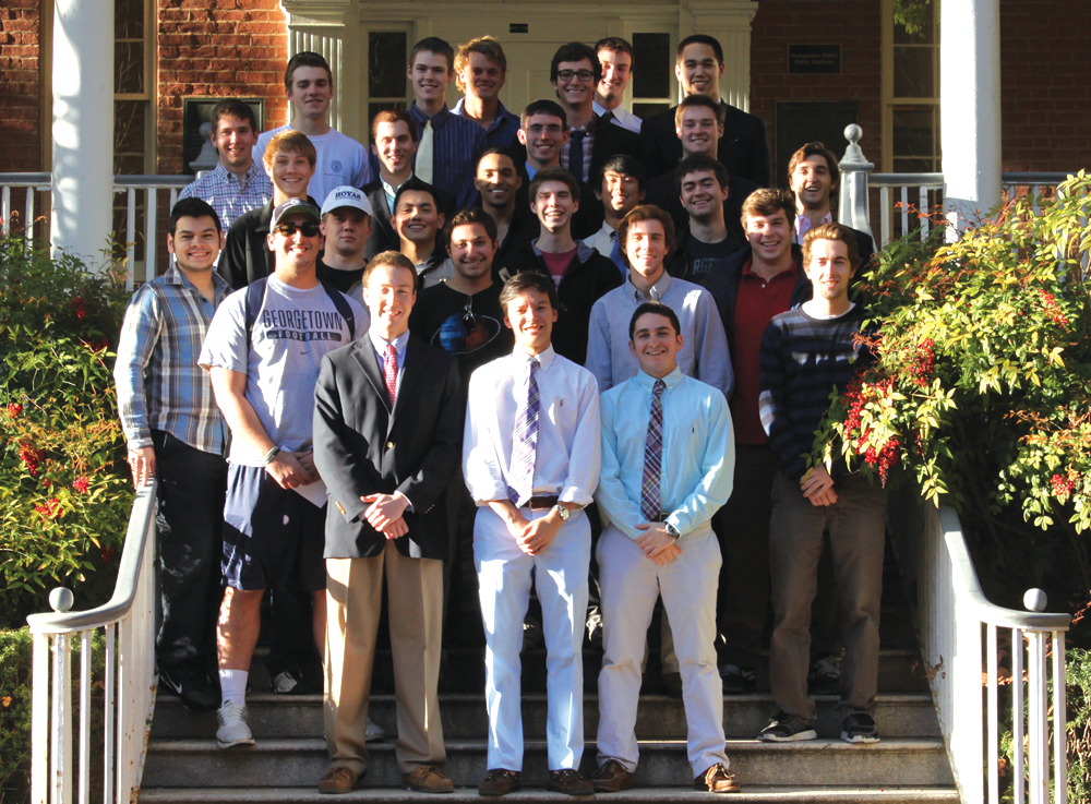 New Fraternities Diversify Greek Life at GU