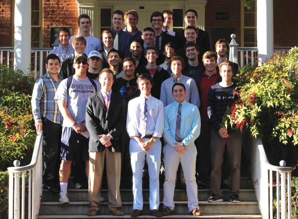 New Fraternities Diversify Greek Life at GU