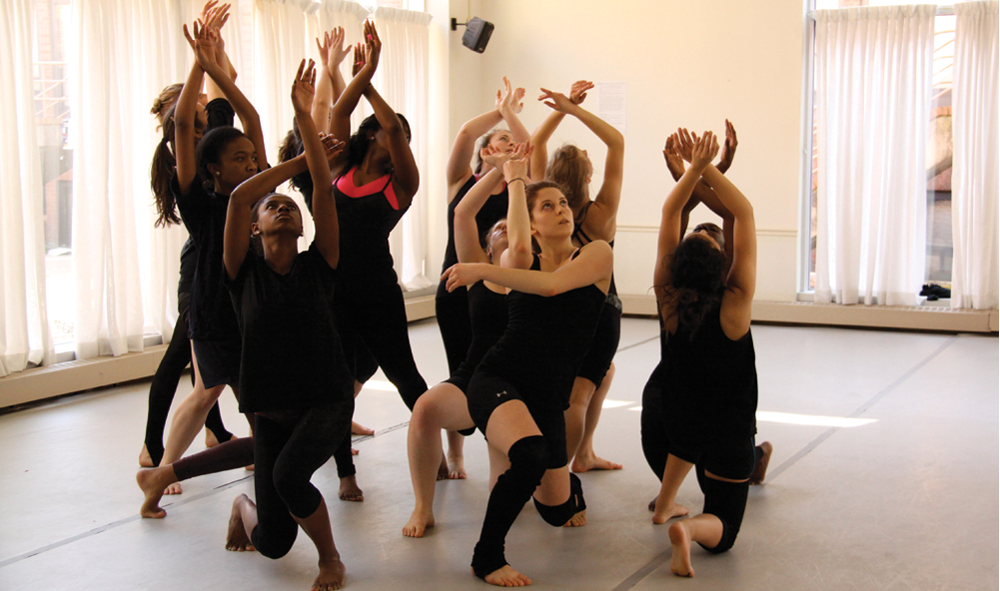 HANSKY SANTOS/THE HOYA Black Movements Dance Theater celebrates tradition through performance.