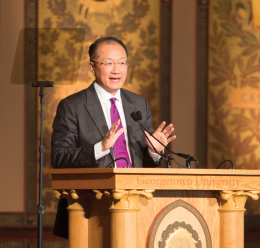 World Bank President Calls for Action on Poverty