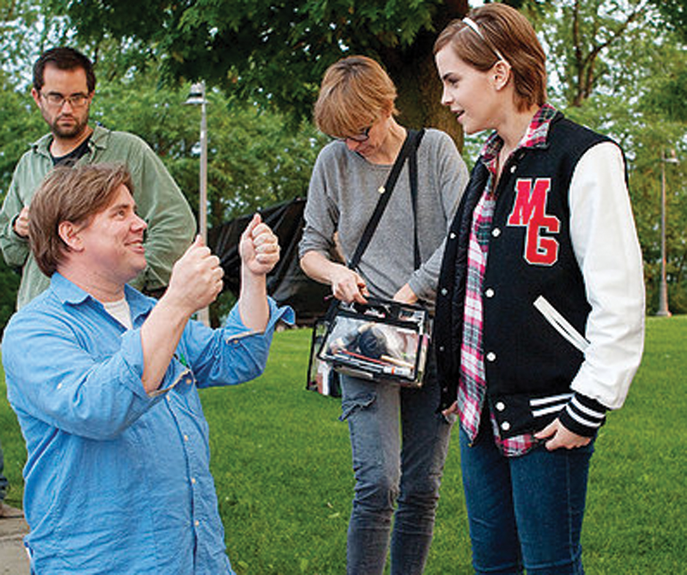 ROTTENTOMATOES.COM HIGH SCHOOL DAZE | Chbosky was able to direct the young actors as they tried to inhabit the characters he'd created 13 years before.