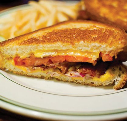 YELP.COM SAY CHEESE | Stoney's menu offers an assortment of grilled cheese options as well as a decadent mac & cheese.
