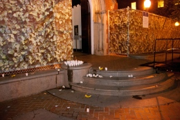 Condoms, Alcohol found on Dahlgren Chapel Steps