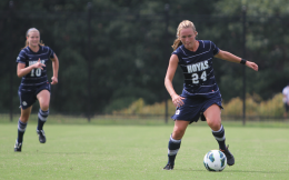 CHRIS GRIVAS/THE HOYA Junior forward Colleen Dinn had a goal and an assist against Cornell.