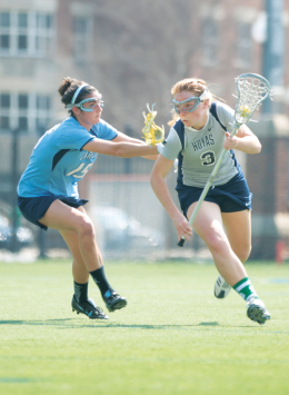 WOMEN'S LACROSSE | GU Set to Take On American