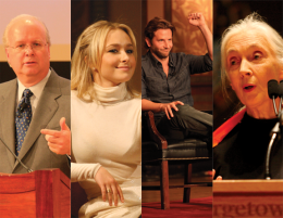 Behind the Podium: Scoring the Big Names