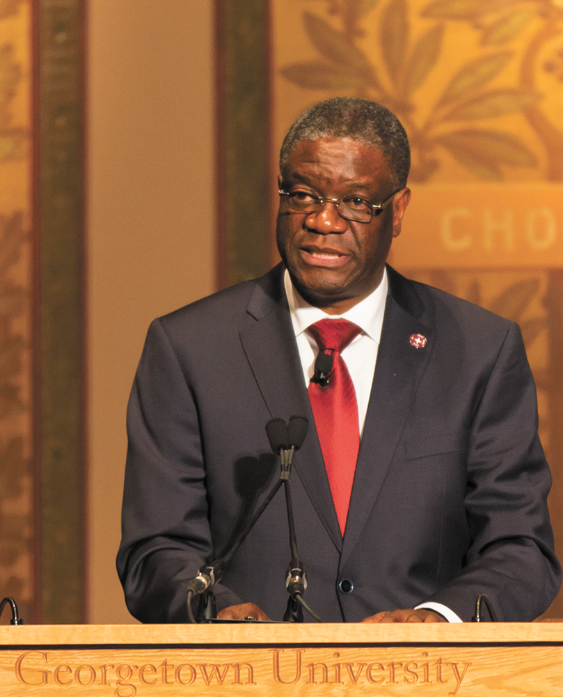 Q&A | Denis Mukwege, Panzi Hospital Director