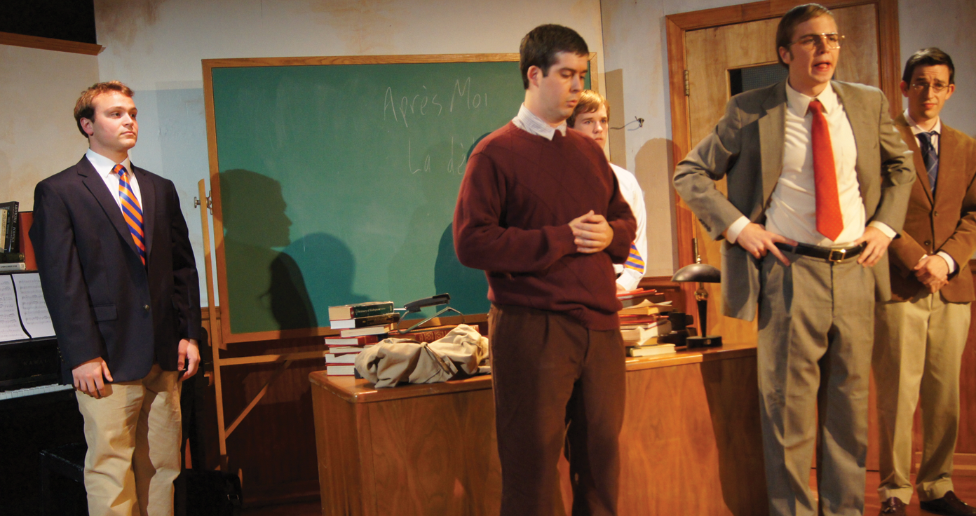 "NATALIA ORTIZ/THE HOYA AN EDUCATION Mask & Bauble's newest three-hour production may be a long one, but ""The History Boys"" tackles problems that will keep you engaged."
