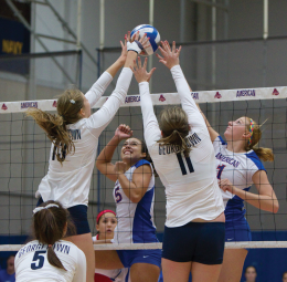 VOLLEYBALL | Georgetown Wins Opening Pair