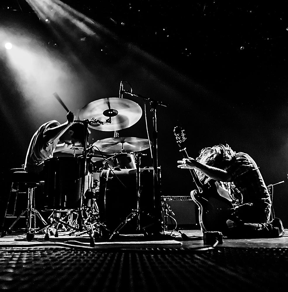 Rock Duo Takes Act Coast to Coast