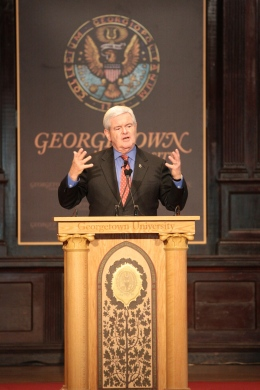 Gingrich Talks Social Security