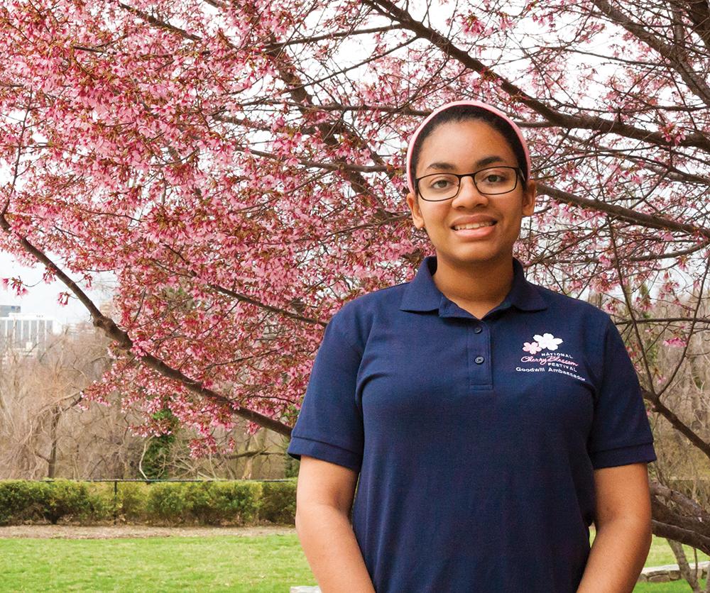 Student Named Cherry Blossom Ambassador