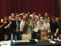 COURTESY ANDREW MARKOFF  Georgetown's Debate Team spends countless hours preparing for its competitions. It has won two national championships in the past three years