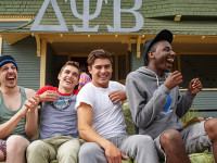 "EW.COM  Certain freshman bros, while never reaching the frat-boy level as shown in ""Neighbors,"" found bonds through their pranking."