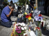 IBTIMES.COM A memorial for the victims of the recent shooting in Isla Vista, Calif.