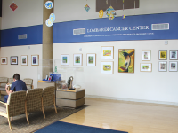NATASHA THOMSON/THE HOYA Georgetown's Lombardi Cancer Center was renewed as the District's only comprehensive cancer center, also winning a $11.25 million grant for clinical trials, equipment and personnel over five years.