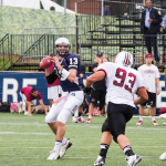 "FILE PHOTO"" ALEXANDER BROWN/THE HOYA Junior Quarterback Kyle Nolan"