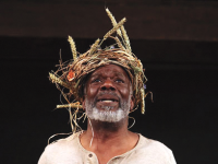 """COURTESY FOLGER SHAKESPEARE LIBRARY  Renowned actor Joseph Marcell leads a cast of eight talented actors of Shakespeare's Globe On Tour Production's rendition of the classic tragedy - """"King Lear"""". The show is held at the Folger Shakespeare Library."""