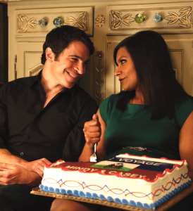 GLAMOUR Season Three looks set to further explore Danny and Mindy's new relationship.