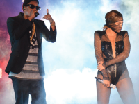 ROLLING STONE  Jay Z and Beyonce prove that they are still music royalty with their tour 'On The Run' which has been filmed by HBO.
