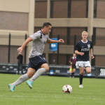 FILE PHOTO: CHRIS GRIVAS/THE HOYA Junior Striker Brandon Allen