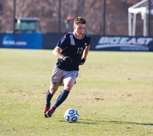 FILE PHOTO: ALEXANDER BROWN/THE HOYA Junior Defender Keegan Rosenberry