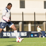 FILE PHOTO: JULIA HENNRIKUS/THE HOYA Sophomore Defender Joseph Yaro