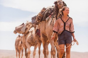 SLATE.COM Mia Wasikowska as Robyn Davidson, who treks across Australia with her feral camels in 'Tracks.'