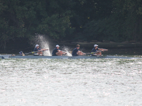 FILE PHOTO: Erin Napier/THE HOYA The heavyweight men's crew team finished in 24th place out of 36 teams in the field in last week's Head of the Charles with a time of 15:15.739.